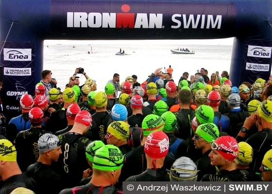 Триатлон Enea IRONMAN 70.3 Gdynia 2017, ironman, triathlon, Swim.by