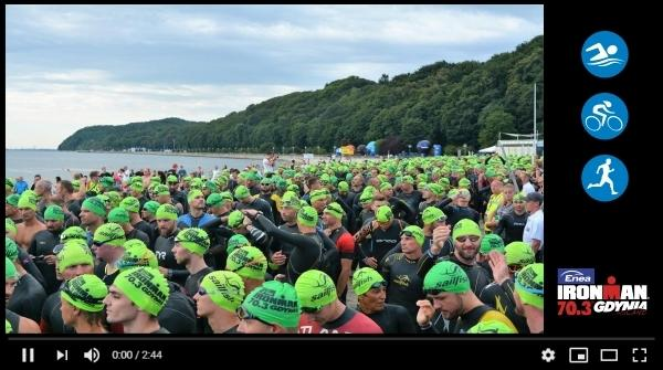 Triathlon IRONMAN Gdynia, www.swim.by, IRONMAN 70.3 Gdynia 2018, Triathlon IRONMAN Gdynia Video, Swim.by