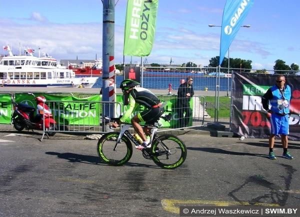 Триатлон IRONMAN 70.3 Gdynia 2016, триатлон Ironman, Swim.by