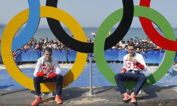 Соревнования по триатлону в Рио–2016, триатлон в Рио-2016, братья Алистер и Джонатан Браунли, Swim.by