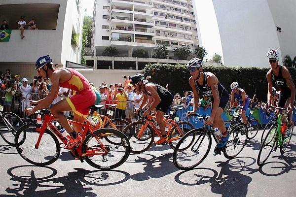 Триатлон на олимпийской дистанции, соревнования по триатлону в Рио–2016, триатлон в Рио-2016, Swim.by