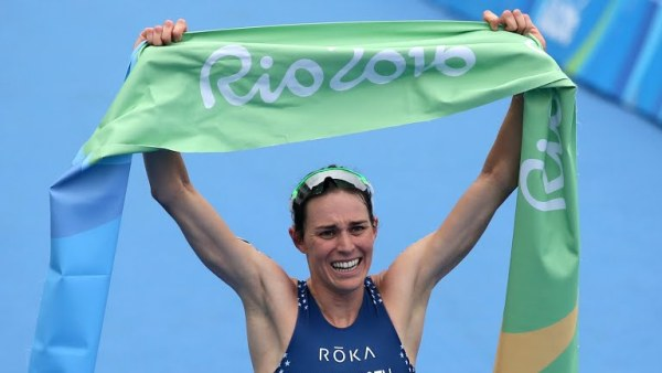 Соревнования по триатлону в Рио–2016, триатлон в Рио-2016, Гвен Йоргенсен, Swim.by
