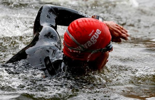 Триатлон, плавательный этап в триатлоне, TRIPRAGUE, триатлон в Праге, Влтава