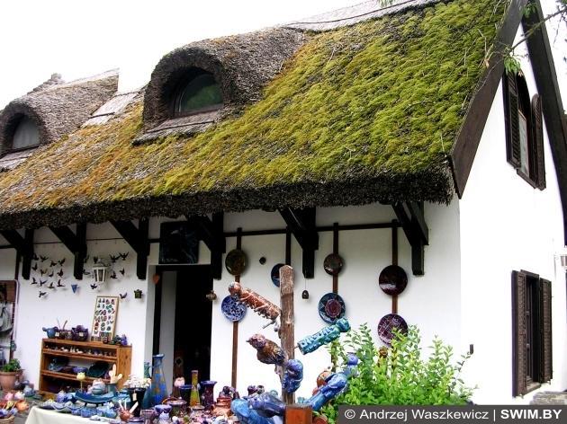 Тростниковая крыша, мох