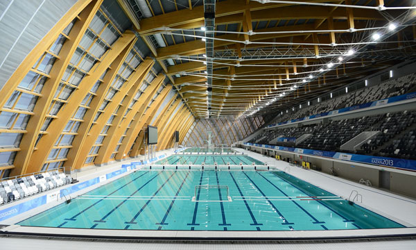 Universiade 2013 Kazan swimming pool championships 2015