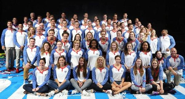 Олимпийская сборная США по плаванию 2016, состав команды США по плаванию в Рио