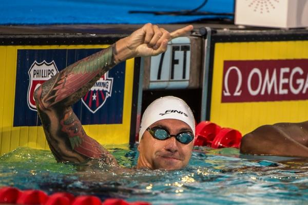 Олимпийская сборная США по плаванию 2016, Майкл Фелпс, Энтони Эрвин