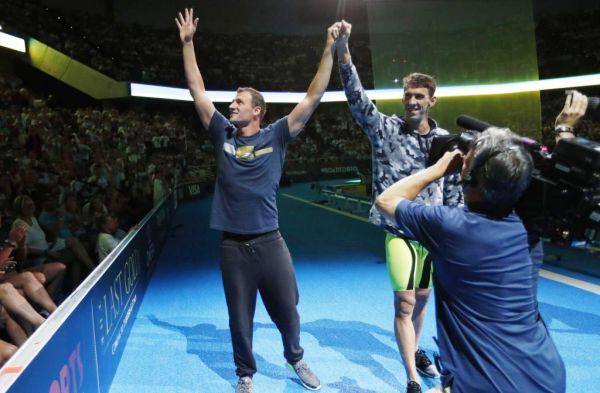 Олимпийская сборная США по плаванию 2016, Райан Лохте, Майкл Фелпс