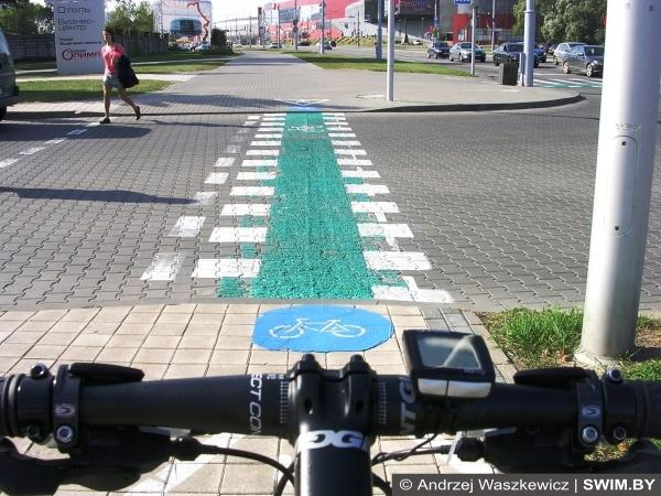 ВелоМинск, bicycle path