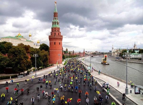 Велопарад в Москве, московский велопарад