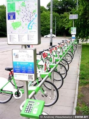 Велосипед, Щецин, Польша