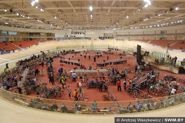 Велотрек, велодром Минск-Арена, velodrome Minsk-Arena, 2009