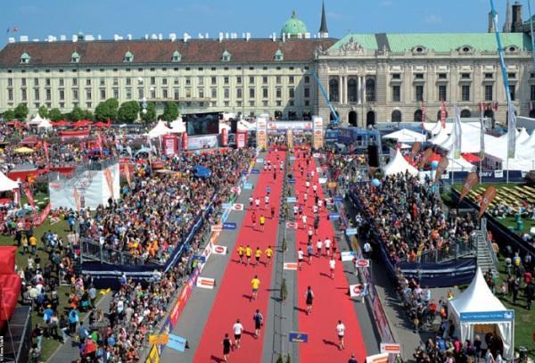 Vienna Marathon 2016, беговой марафон в Вене