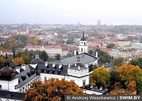 Andrzej Waszkewicz Vilnius from high
