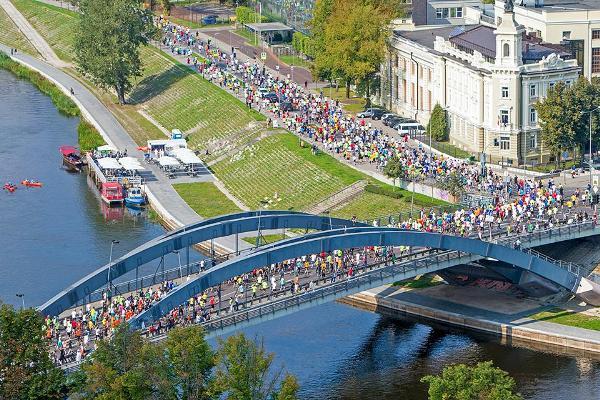 Vilnius Marathon 2016, беговой марафон Вильнюс, полумарафон в Вильнюсе, Andrzej Waszkewicz, Swim.by
