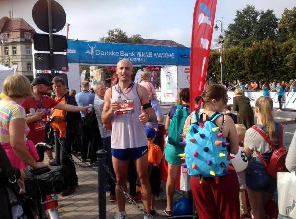 Vilnius Marathon 2016, беговой марафон Вильнюс, полумарафон в Вильнюсе, Odyssey Delyanov