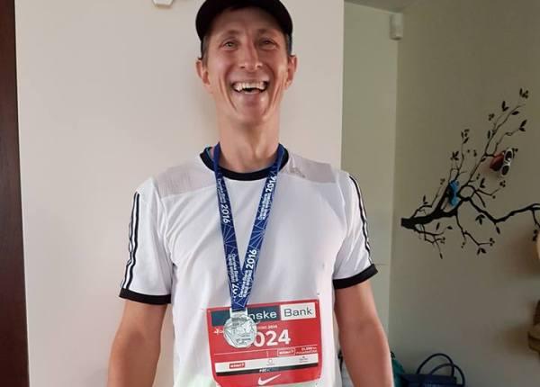 Vilnius Marathon 2016, беговой марафон Вильнюс, полумарафон в Вильнюсе, Aleksandras Zamorskis