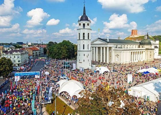Vilnius Marathon 2016, беговой марафон Вильнюс, полумарафон в Вильнюсе