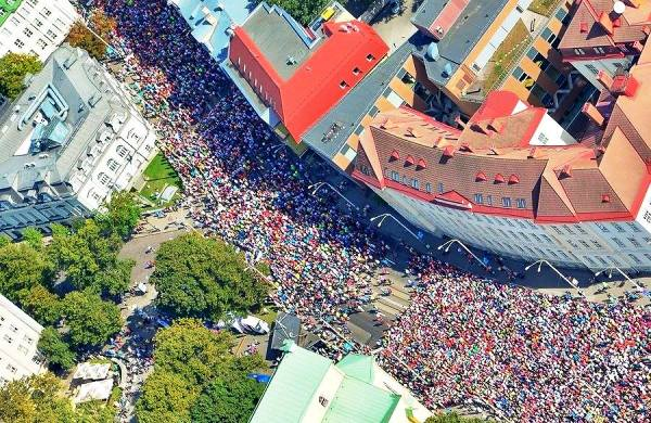 Tallinn Marathon, Вильнюс марафон, Вроцлав марафон, Таллинн марафон