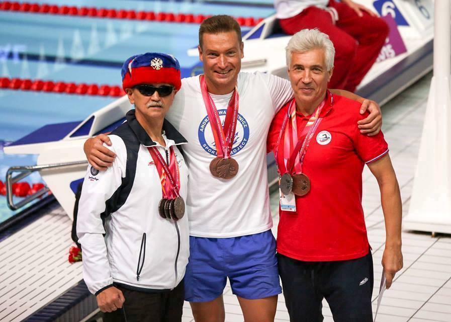Vlad Nesvetaev, Alexander Danilov, swimming