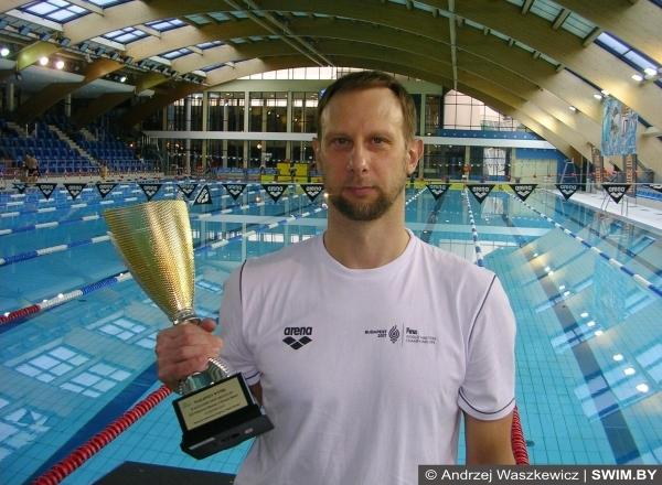 Vladislav Bragin, winner Warsaw Open 2017, masters swimming