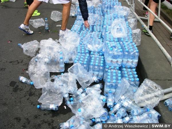 Вода Aura, марафон в Минске