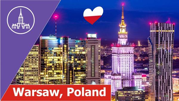 Warsaw from above Video YouTube, www.swim.by, Warszawa z lotu ptaka Video YouTube, Swim.by