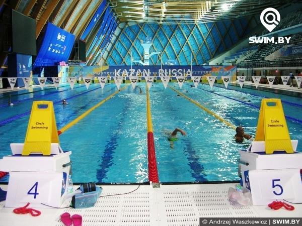 Дворец водных видов спорта, Казань, бассейн для тренировок по плаванию, соревнования плавание