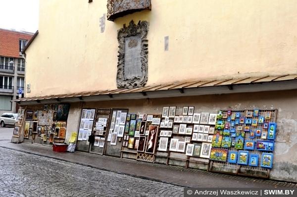 Andrzej Waszkewicz sztuka Wilno Vilnius street art