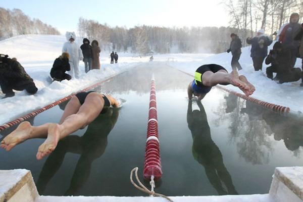 Соревнования по зимнему плаванию, winter swimming competitions