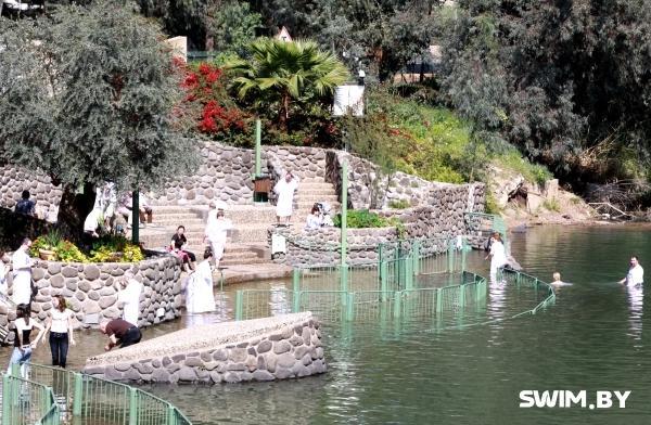 Плавание зимой, река Иордан, температура воды, температура воздуха, Палестина, Крещение Иисуса Христа