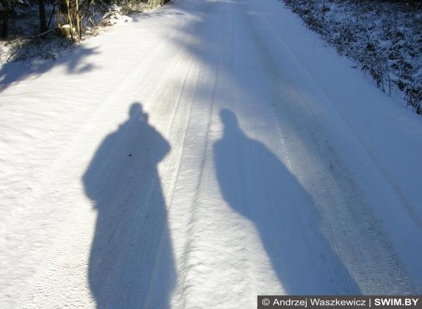Зима, маршрут, треккинг