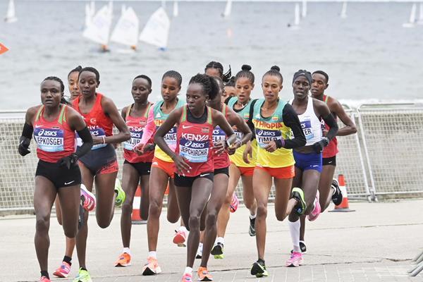 Women World Record, World Athletics Half Marathon Championships Gdynia 2020, www.running.by, GDYNIA HALF MARATHON 2020, Running.by