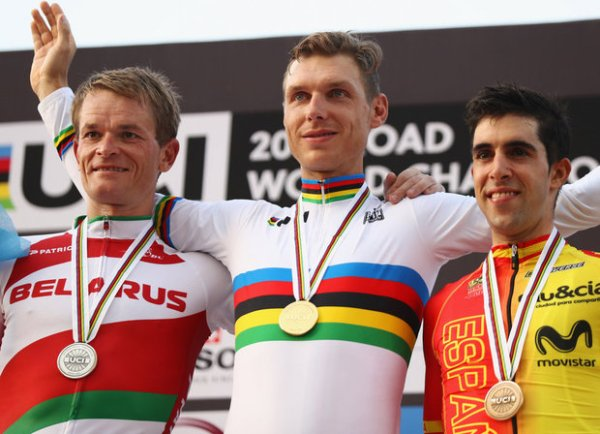 Чемпионат мира по велоспорту на шоссе 2016, Swim.by, Василий Кириенко, Тони Мартин и Джонатан Кастровьехо, велоспорт