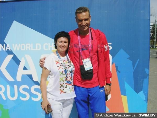 World masters swimming championships 2015, Andrzej Waszkewicz