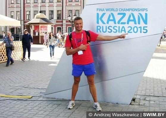 Andrzej Waszkewicz,<br /> Чемпионат мира по плаванию мастерс 2015