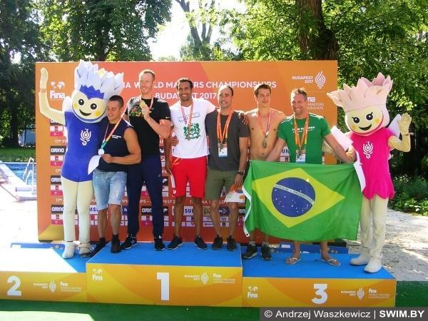 World Masters Swimming Championships 2017, Чемпионат мира по плаванию мастерс, Будапешт 2017, Анджей Вашкевич, Andrzej Waszkewicz, EMG