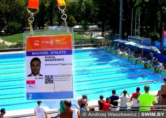 World Masters Swimming Championships 2017, Andrzej Waszkewicz