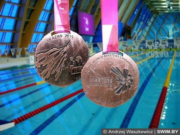 World swimming championships, Kazan, medals, foto