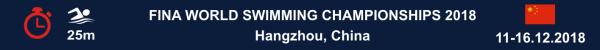 World Swimming Championships 2018, FINA World Swimming Championships 2018 Results, www.swim.by, Mistrzostwa Swiata Pływanie Wyniki, Чемпионат мира по плаванию 2018 Результаты, World Swimming Championship Results 2018, Swim.by