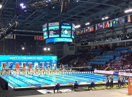 Чемпионат мира по плаванию на короткой воде 2016, команда Беларуси по плаванию, бронзовая медаль