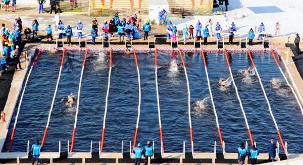 Чемпионат мира по зимнему плаванию в Эстонии, World Winter Swimming Championship, www.swim.by