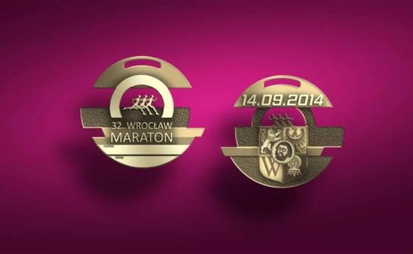 Wroclaw Marathon, медаль, марафон