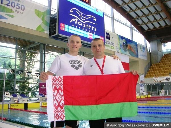 Yauheni Puzan, Aleksandr Puzan, Belarus swimming