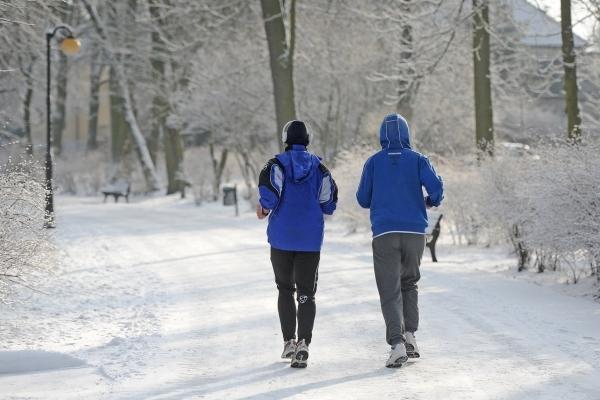 Закаливание организма, бег зимой