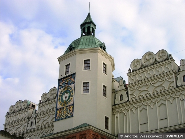 Замок, Екатерина вторая, Щецин, Польша