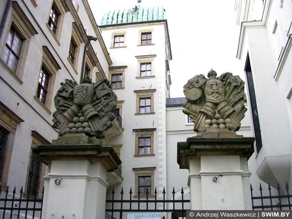 Замок, Екатерина вторая, Щецин