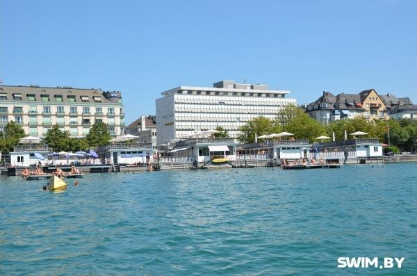 Zurich Seebad Utoquai, swimming pool